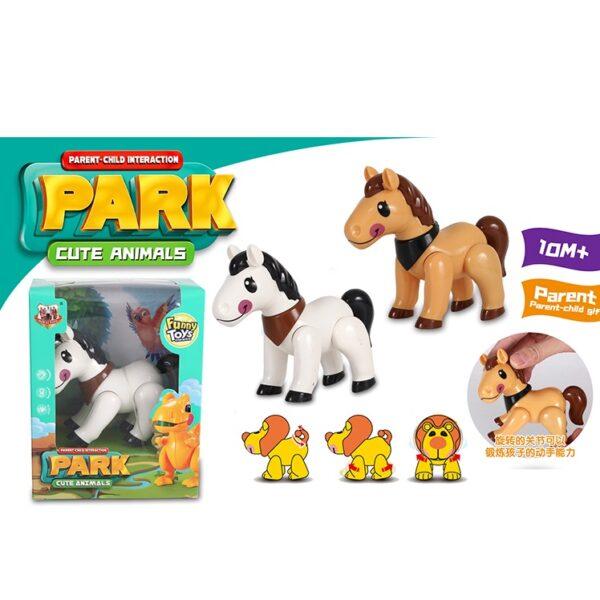 اسباب بازی (مفصلی) pony طرح-Tolo
